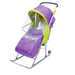 Купить Санки-коляска Ника «Тимка Люкс»