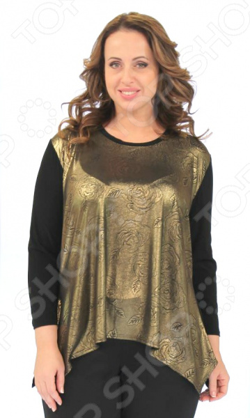 Блуза Элеганс «Интуиция»Блузы. Рубашки<br>Блуза Элеганс Интуиция это легкая и нежная блуза, которая поможет вам создавать невероятные образы, всегда оставаясь женственной и утонченной. Благодаря отличному дизайну она скроет недостатки фигуры и подчеркнет достоинства. Блуза прекрасно смотрится с брюками и юбками, а насыщенный цвет привлекает взгляд. В этой блузе вы будете чувствовать себя блистательно как на работе, так и на вечерней прогулке по городу. Универсальная длина до середины бедра и выразительный фасон позволяют надеть ее не только в офис или на прогулку, но и на официальные мероприятия. Удобные рукава скрывают несовершенства в области плеч. Круглый вырез горловины, декорированный тесьмой, визуально удлинит горло и подчеркнет плавность черт. Швы обработаны текстурированными, эластичными нитями, благодаря чему не тянутся и не натирают кожу. Блуза изготовлена из мягкого материала 95 полиэстер, 5 эластан , благодаря чему материал не скатывается и не линяет после стирки. Полиэстер предохраняет вещь от измятия и быстро высыхает после стирки. Даже после длительных стирок и использования эта блуза будет выглядеть идеально. Материал является антистатическим и обладает хорошей воздухопроницаемостью.<br>