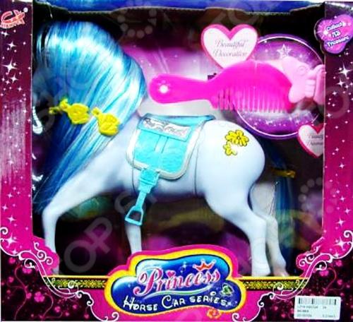 Набор игровой для девочки Shantou Gepai «Лошадь для куклы с аксессуарами»Игровые наборы для девочек<br>Набор игровой для девочки Shantou Gepai Лошадь для куклы с аксессуарами - интересный и оригинальный набор, который станет замечательным подарком для любой девочки. В набор входят различные аксессуары, которые позволят значительно разнообразить игровой процесс, а так же сделать его максимально реалистичным. Игрушки отлично подходят для сюжетно-роллевых игр, в процессе которых у ребенка развивается воображение, мышление и память. Все элементы набора выполнены из качественных и безопасных материалов.<br>