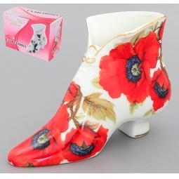 Купить Салфетница Elan Gallery «Туфелька: Маки»