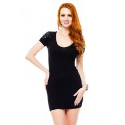 фото Туника Mondigo 9887. Цвет: черный. Размер одежды: 42