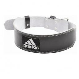фото Пояс тяжелоатлетический кожаный Adidas. Размер: L/XL