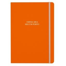 фото Тетрадь в клетку на резинке Erich Krause Santina. Цвет: оранжевый