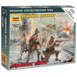 фото Набор сборных фигурок Звезда «Румынская пехота»