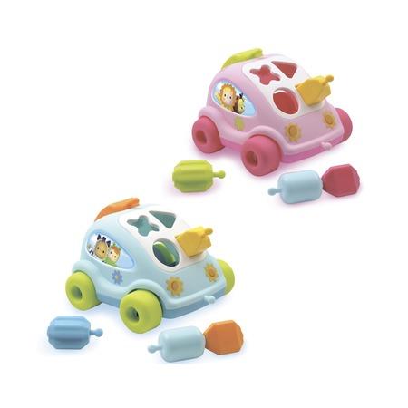 Купить Игрушка-сортер развивающая Smoby «Автомобиль с фигурками». В ассортименте