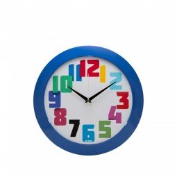 фото Часы настенные Mitya Veselkov «Цветные числа»