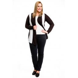 фото Кардиган Mondigo XL 8513. Цвет: темно-серый. Размер одежды: 48