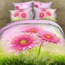 фото Комплект постельного белья с эффектом 3D Buenas Noches Utro. Евро