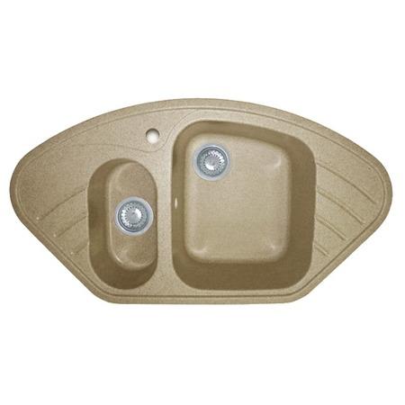 Купить Мойка кухонная GranFest Corner GF-C960E. Цвет: песочный
