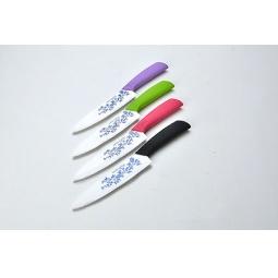 фото Нож керамический с силиконовой ручкой Mayer&Boch MB-21835. В ассортименте