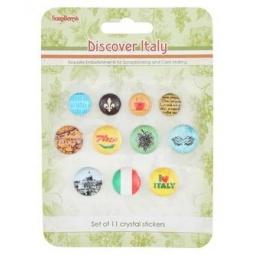 Купить Камушки со стикером ScrapBerry's «Итальянские каникулы»