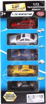 Набор машинок коллекционных PlaySmart Р41288 Набор машинок коллекционных PlaySmart Р41288 /