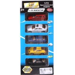 Купить Набор машинок коллекционных PlaySmart Р41288