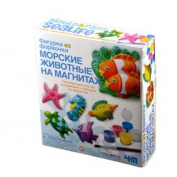 Купить Набор для создания фигурок из гипса 4M «Морские животные на магнитах»