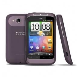 фото Мобильный телефон HTC Wildfire S. Цвет: пурпурный