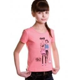 фото Футболка для девочки Свитанак 1013572. Рост: 128 см. Размер: 34