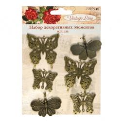 фото Набор декоративных элементов для вышивки Vintage Line SCP1035
