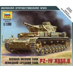 фото Сборная модель Звезда немецкий танк «Т-IV»