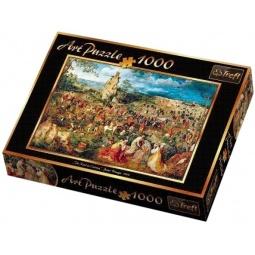 Настольная игра Путь на Голгофу. Питер Брейгель. Пазл 1000 элементов