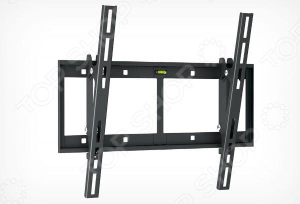 Кронштейн для телевизора Holder T4609-BКронштейны для телевизоров<br>Кронштейн для телевизора Holder T4609-B поможет организовать пространство в гостиной или любой другой комнате. Ведь гораздо удобнее, когда телевизор установлен не на столе или тумбе, а на стене. Внимание, установка кронштейна потребует создания отверстий в стене, поэтому желательно обратиться к специалисту по монтажу.  Предназначен для моделей с диагональю экрана в диапазоне 32-65 .  Выдерживает максимальный вес до 60 кг.  Угол наклона: 2 , 15 .  Есть пузырьковый уровень для удобного выравнивания телевизора по горизонту.  Система Double Hook обеспечивает надежность фиксации телевизора на кронштейне. Нагрузка на основание распределяется равномерно.<br>