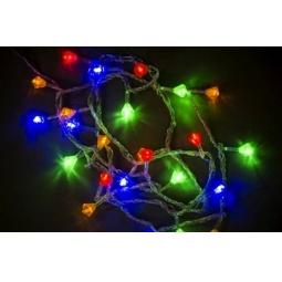 фото Гирлянда электрическая Holiday Classics «Кристаллы». Цвет: мультиколор