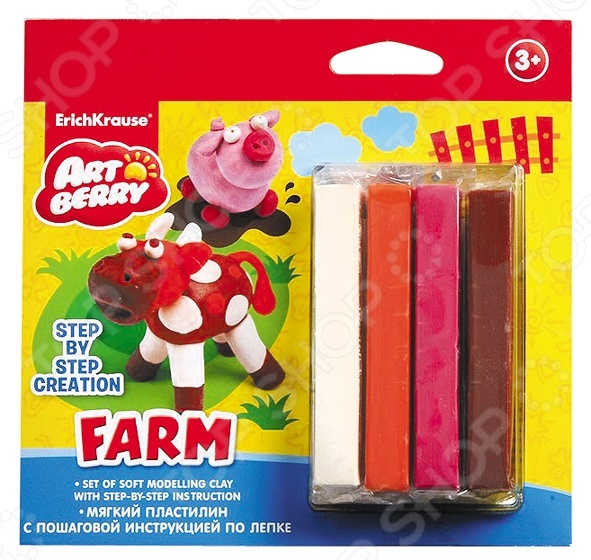 ����� ���������� ������� Erich Krause Farm Step-by-step Creation