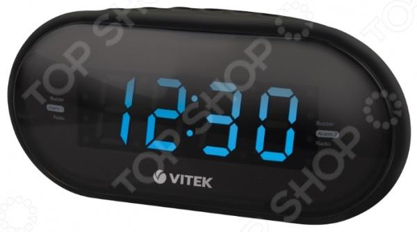 Радиочасы Vitek VT-6602 радиочасы vitek vt 6602