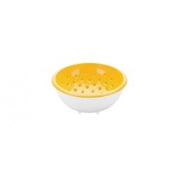 фото Дуршлаг c чашкой Tescoma Vitamino. Диаметр: 20 см. Цвет: желтый