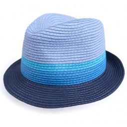 Купить Шляпа детская Appaman Color Block Fedora. Цвет: синий