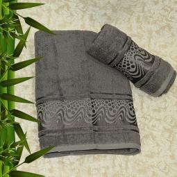 фото Полотенце махровое Mariposa Aqua grey. Размер полотенца: 70х140 см