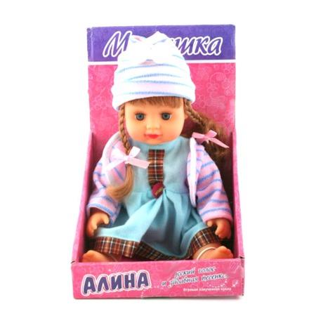 Купить Кукла интерактивная Shantou Gepai «Алина с косичками»
