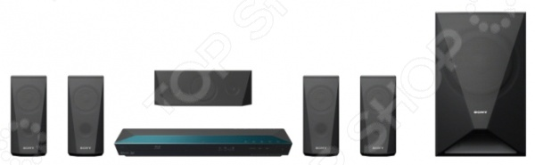 Домашний кинотеатр Sony BDV-E3100 3d blu ray домашний кинотеатр 5 1 sony bdv n9200w black