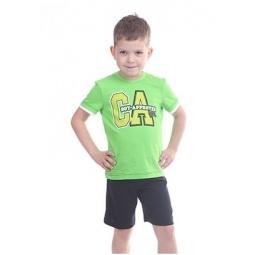 фото Комплект детский: футболка и шорты Свитанак 606495. Размер: 26. Возрастная группа: от 1 до 1,5 лет. Рост: 86 см