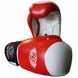 фото Перчатки боксерские Larsen PS-789 Supreme. Вес в унциях: 12