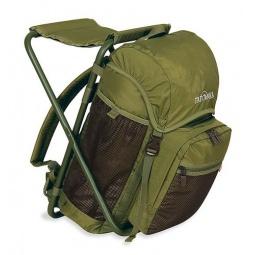 фото Стул-рюкзак для рыбалки Tatonka Fischerstuhl. Цвет: зеленый