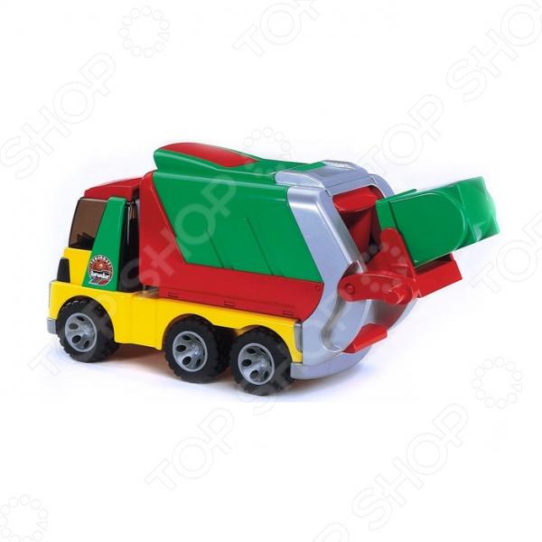 Машинка игрушечная Bruder «Мусоровоз» ROADMAX st luce бра st luce pratico sle120 201 01