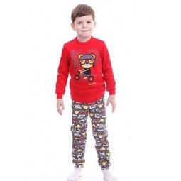 фото Пижама для мальчика Свитанак 217501. Размер: 30. Рост: 110 см
