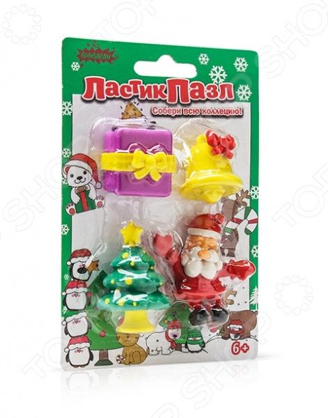 Пазл-ластик Bumbaram «Дед Мороз» игровые фигурки maxitoys фигура дед мороз в плетеном кресле музыкальный
