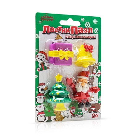 Купить Пазл-ластик Bumbaram «Дед Мороз»
