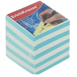 фото Блок для записей Erich Krause. Цвет: голубой. Высота: 5 см
