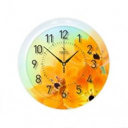 Купить Часы Вега П 1-247/7-247 «Желтые тюльпаны»