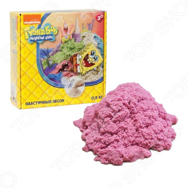 Песок кинетический 1 Toy «Губка Боб» Песок кинетический 1 Toy «Губка Боб» Т58369 /Розовый