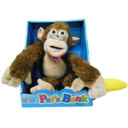 Купить Мягкая игрушка интерактивная Обезьянка CL1166A