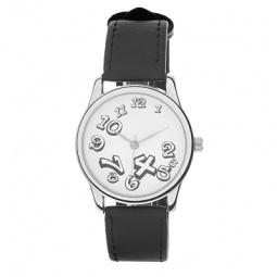 фото Часы наручные Mitya Veselkov «Нет времени». Цвет: белый