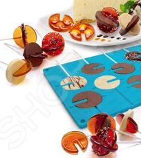 Форма силиконовая Bradex 3D «Круг» силиконовая форма для изготовления шоколада mayer