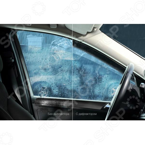 Дефлекторы окон Vinguru Ford Fusion 2002-2012 - фото 6