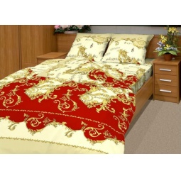 фото Комплект постельного белья Матекс «Ноктюрн». 1,5-спальный, бордовый