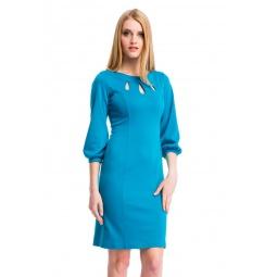 фото Платье Mondigo 5196. Цвет: морской волны. Размер одежды: 48