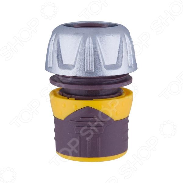Коннектор Brigadier 84072 коннектор ремонтный для шланга truper пластиковый мама 5 8 3 4