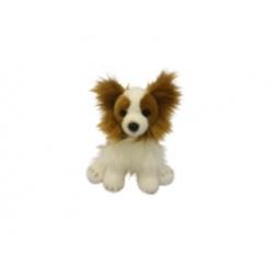 фото Мягкая игрушка MaxiLife «Собачка сидячая». Цвет: рыжий, белый